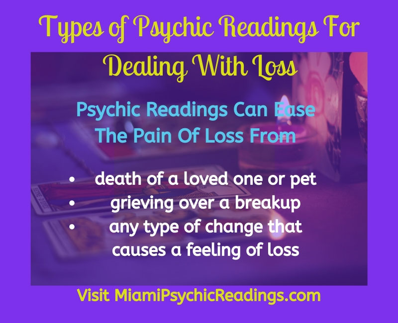 psychic readings for dealing with loss